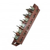 6-wire connector terminal block