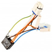 Bi-metal thermostat + complete wiring bundle